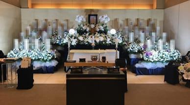 佐嶋家の葬儀
