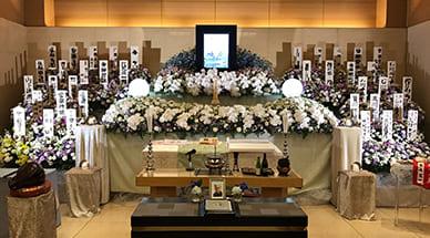 国井家の葬儀