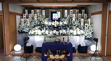 青木家の葬儀
