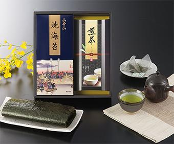 山本山焼海苔・静岡煎茶ティーバッグ詰合せ
