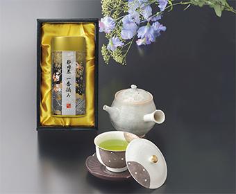 静岡茶一番摘み
