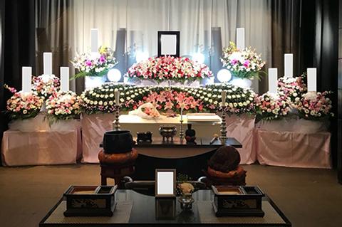 横浜市北部斎場の葬儀事例 No.4