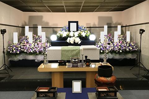 横浜市南部斎場の葬儀事例 No.1