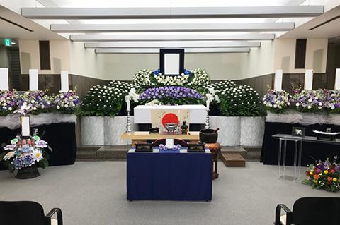 横浜市南部斎場の葬儀事例 No.2