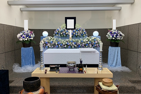 横浜市南部斎場の葬儀事例 No.3