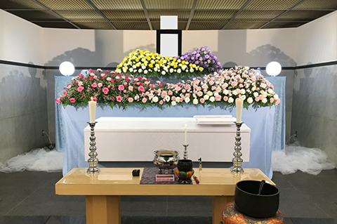 横浜市南部斎場の葬儀事例 No.4
